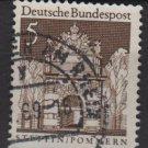 Germany 1966 - Scott  936 used - 5pf, Stettin, Pommern  (13-372)