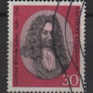 Germany 1966 - Scott  962 used - 30 pf, G. W. Leibniz  (5-207)
