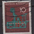 Germany 1968 - Scott 978 used - 10pf, Koenig Printing Press  (13-433)
