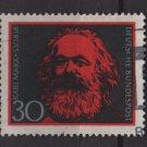 Germany 1968 - Scott 985 used - 30pf, Karl Marx  (13-436)