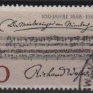 Germany 1968 - Scott 987 used - 30pf, Meistersinger von Nurmberg (13-437)