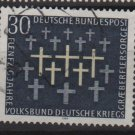 Germany 1969 - Scott 999 used - 30pf, War Graves Commission (13-457)