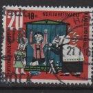 Germany 1961 -Scott  B378 used- 20+10 pf, Hansel & Gretel (13-460)