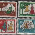 Germany 1965 - Scott  B408-B411 (4) MNH - Cinderella  (13-467)