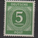 Germany 1946 - Scott 534 MH - 5 pf, Numeral (13-499)