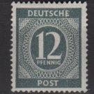 Germany 1946 - Scott 539 MH - 12 pf, Numeral (13-518)