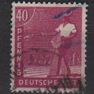 Germany 1947 - Scott 568 used - 40 pf, Sower (13-596)
