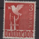 Germany 1947 - Scott 576 MH - 3 m, Reaching for peace, dove  (13-611)