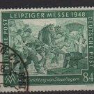 Germany 1948 - Scott 583 used  - 84 pf, Leipzig Fair (13-621)