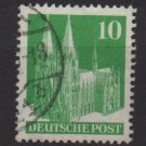 Germany 1948 - Scott 641 used - 10 pf, Cologne Cathedral (13-642)