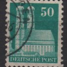 Germany 1948 -Scott 653 used- 50pf, Our Lady's Church Munich  (13-654)
