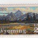 USA 1990 - Scott 2444 used - 25c, Wyoming Statehood  (d-159)