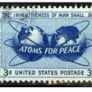 USA 1955 - Scott 1070 MH - Atoms for peace  (H-332)