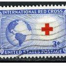 USA 1952 - Scott 1016 used - 3c, International Red Cross  (H-355)