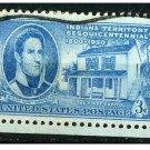 USA 1950 - Scott 996 used - 3c, Indiana Territory  (N-413)