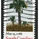 USA 1987 - Scott 2343 used - 25c, Palm, South Carolina  (d-150)