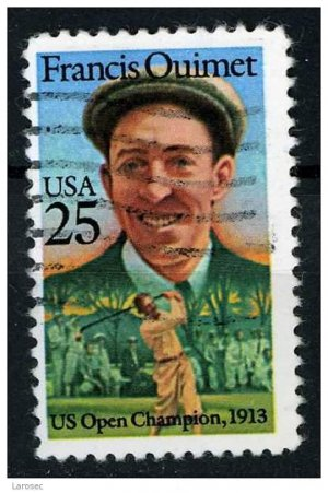 USA 1988 - Scott 2377 used - 25c, Francis Ouimet  (m-606)