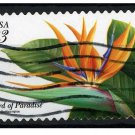 USA 1999 - Scott 3310 used - Tropical flower, Bird of Paradise   (Q-60)