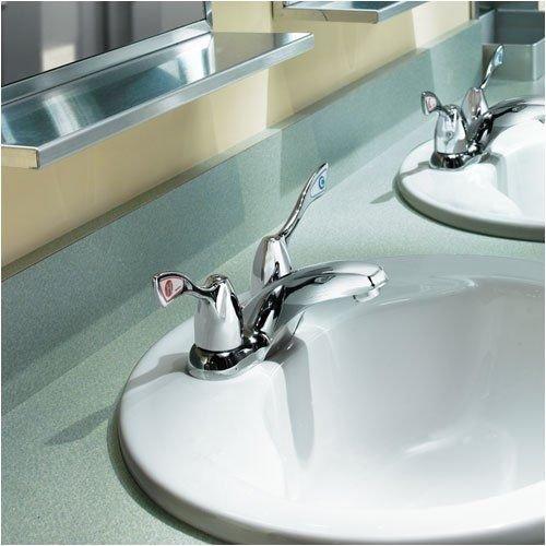 Moen Chateau Commercial 4 Quot 2 Handle Sink Faucet 8800cp