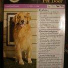 "Petsafe 10""x15""Wall Aluminum Pet Door PPA11-10917 Large"