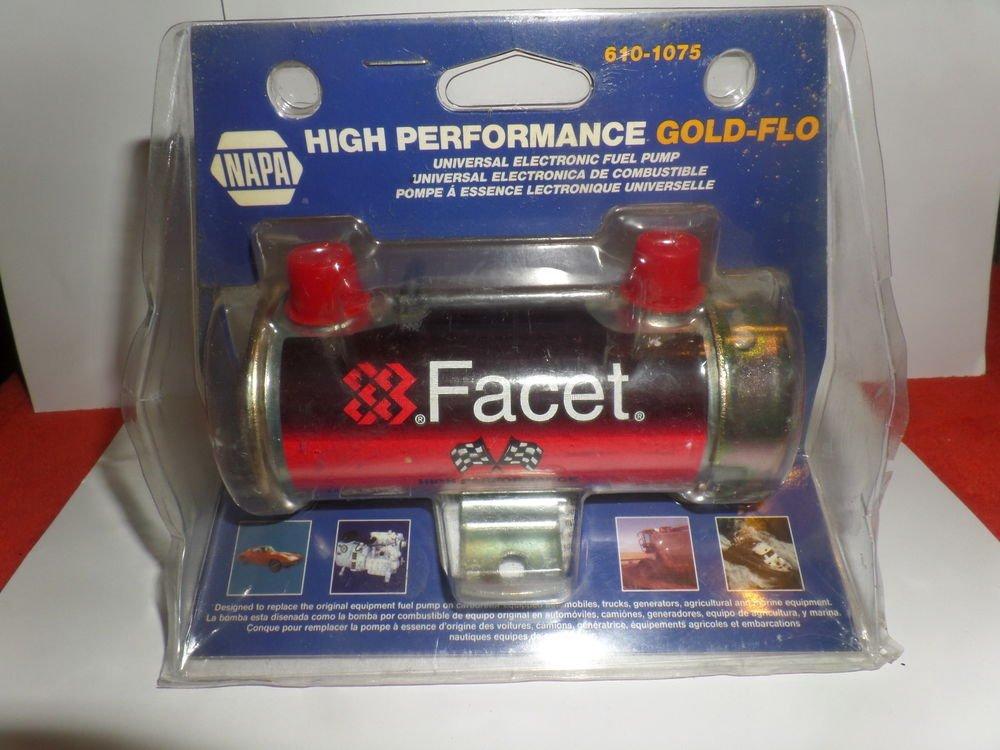 Facet Fuel Pump >> NAPA Facet High Performance Gold-Flo Universal Electronic Fuel Pump 610-1075