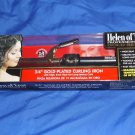 """HOT TOOLS PROFESSIONAL HELEN OF TROY 3/4"""" Gold Pleated  Curling Iron 510084"""