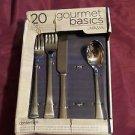 MIKASA® Gourmet Basics Contempo 19 Pieces Set For 4 Flatware Set 5120788