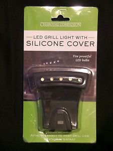CHARCOAL COMPANION LED Grill Light w/ Silicone Cover CC7318