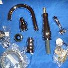 DELTA Leland Single Handle Pull Down Bar Prep Faucet 9978-DST