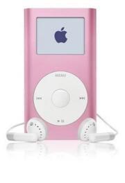 m9804lla(R): Apple Apple Ipod Mini 4GB 2nd Gen. MP3 Player- Pink