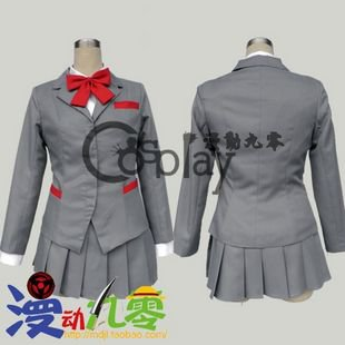 Bleach Kuchiki Rukia Winter School Uniform Cosplay Costume