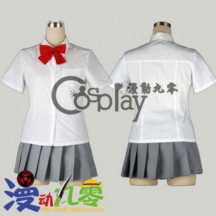 Bleach Kuchiki Rukia Summer School Uniform Cosplay Costume