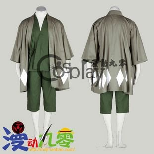 Bleach Urahara Kisuke Cosplay Costume And Hat