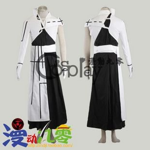 Bleach Ishida Uryuu 2nd Cosplay Costume