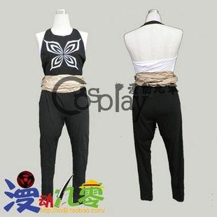 Bleach Shihouin Yoruichi 1st Cosplay Costume