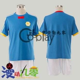 Inazuma Eleven Fubuki Shiro Summer Football Clothes Cosplay Costume