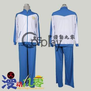 Inazuma Eleven Fubuki Shiro Winter Football Clothes Cosplay Costume