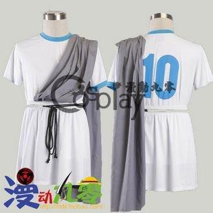 Inazuma Eleven Shiyuzi School Football Clothes Cosplay Costume
