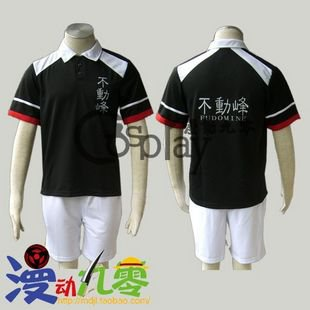 The Prince of Tennis Fudomine Summer Tennis clothes Cosplay Costume