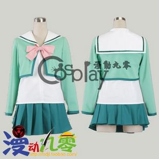 The Prince of Tennis Seigaku Women's Winter School Uniform Cosplay Costume
