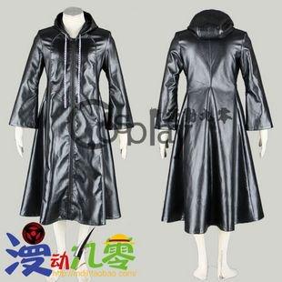 Kingdom Hearts Thirteen Organs Axel Cloak Cosplay Costume