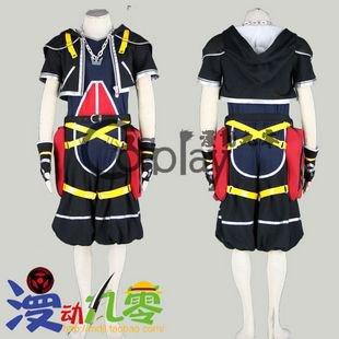 Kingdom Hearts Sora Original Cosplay Costume