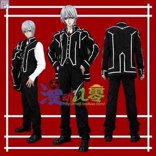Vampire Knight Kiryu Zero Day Class Men's School Uniform Cosplay Costume