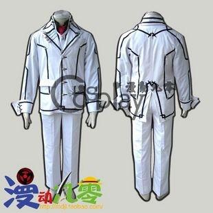 Vampire Knight Kuran Kaname Night Class Men's School Uniform Cosplay Costume