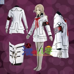 Vampire Knight Luca Souen Night Class Women's School Uniform Cosplay Costume