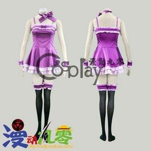 Vampire Knight Kuran Yuuki Bobtail Cosplay Costume