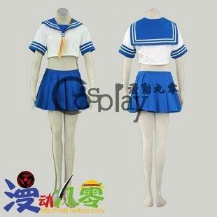 Ikkitousen Kanu Unchou School Uniform Cosplay Costume