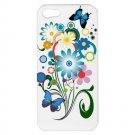 Bright Colorful Flower iPhone 5 Hardshell Case - i5flr4