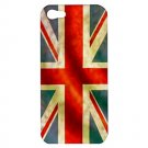 UK Flag iPhone 5 Hardshell Case - i5uk1