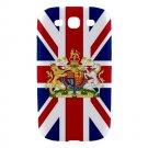 UK Flag and Royal Coat Arms Samsung Galaxy S3 Hardshell Case - s3uk5